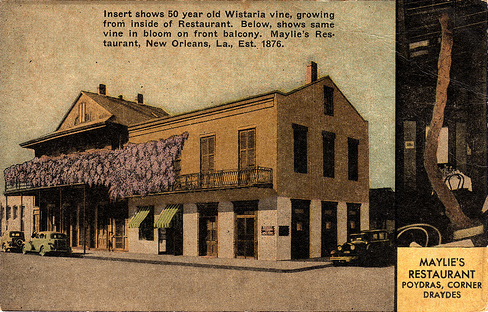 Maylie's Restaurant, New Orleans