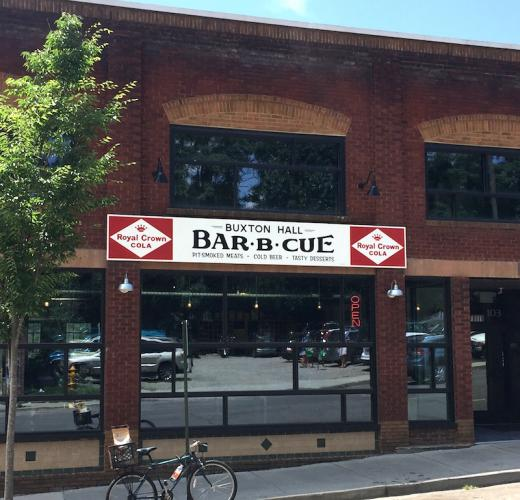 With whole hog, serious sides, and a full bar, Asheville's Buxton Hall is an impressive barbecue joint indeed